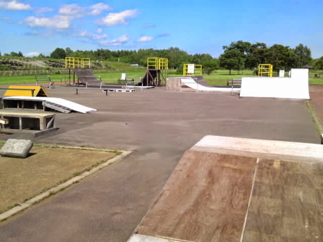 音更スケートパーク