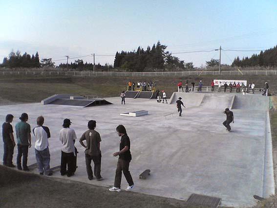 鹿角市総合運動公園スケートパーク
