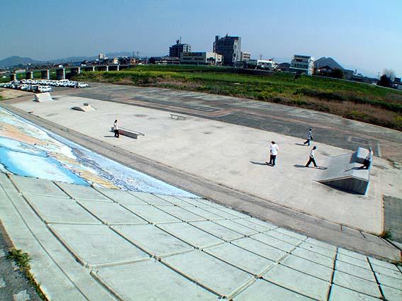 飯塚市スケートボード広場