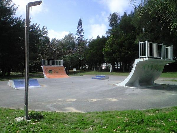 石川公園スケートパーク