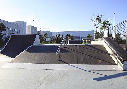 東京都立城南島海浜公園スケボー広場