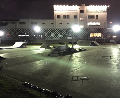 小牧スケートパーク川西