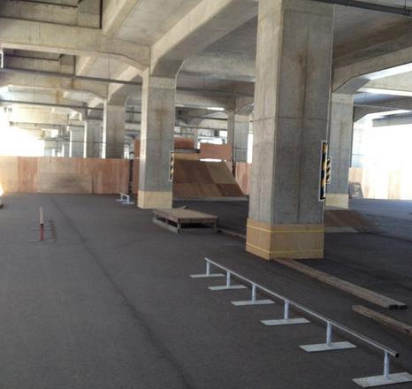 小松駅スケートパーク ※閉鎖中のおそれあり