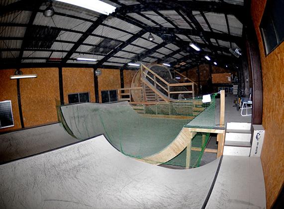 M's Ramp Lab Skate Park