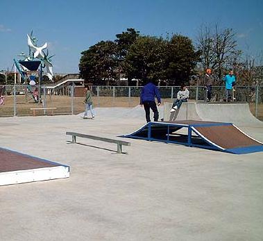 浦安市舞浜運動公園スケートボード場