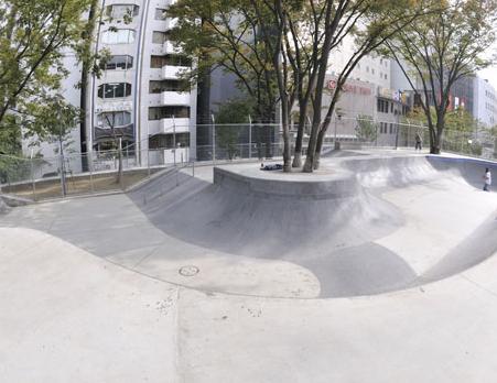 宮下公園スケートパーク ※閉鎖