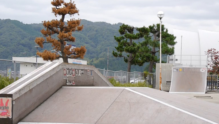 宮津市浜町スケートパーク
