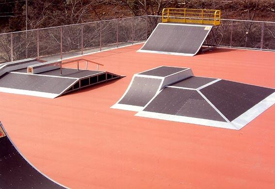 奈義町スケートパーク