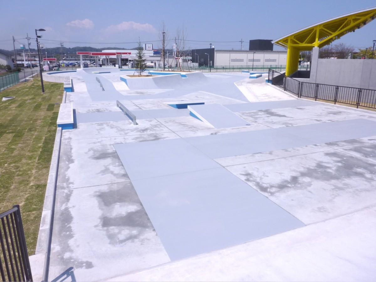 富山市ストリートスポーツパーク NIXS