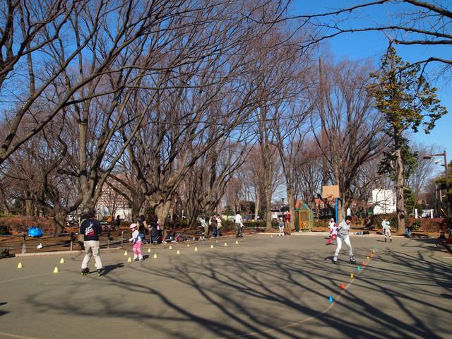 大蔵運動公園ローラースケート場