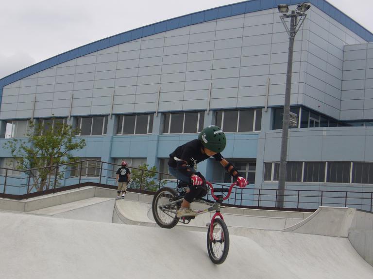 市原市総合公園 スケートコート オリプリランド