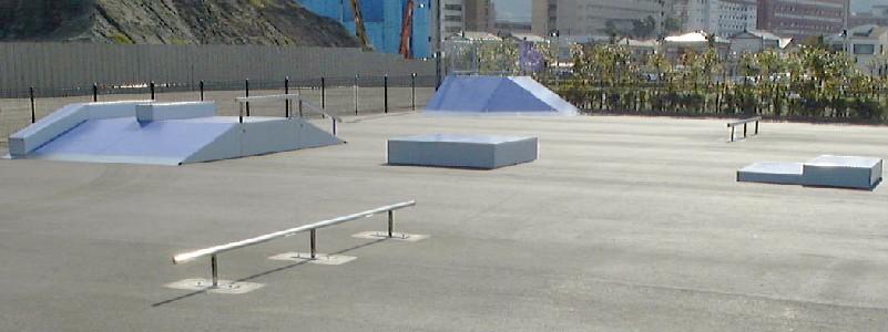 サンポートスケートパーク【SUSPA】 ※閉鎖