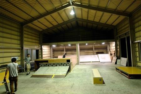 高山スケートパーク