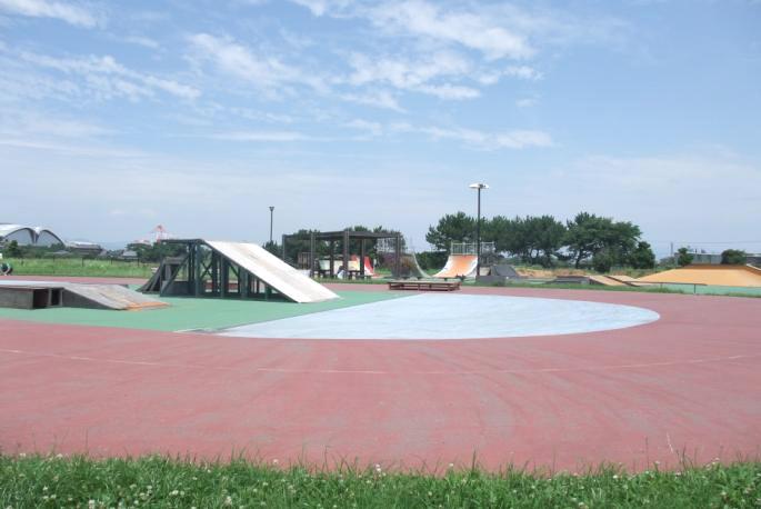 豊橋総合スポーツ公園 カモメスケートパーク