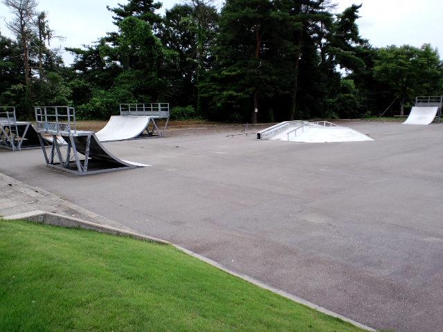魚津桃山運動公園 スケートパーク