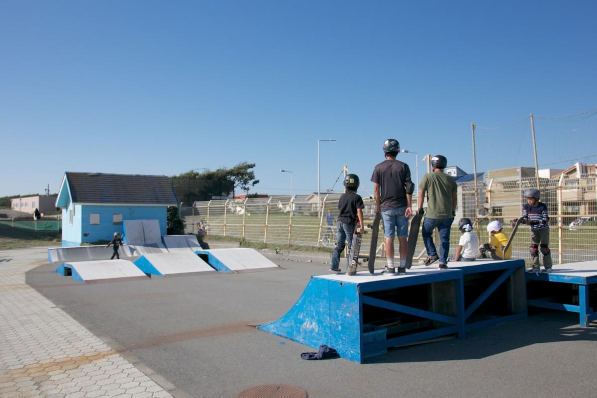 鵠沼海浜公園スケートパーク 湘南なぎさパーク