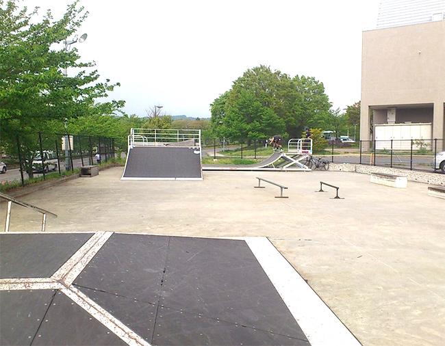 松本市総合体育館スケートパーク
