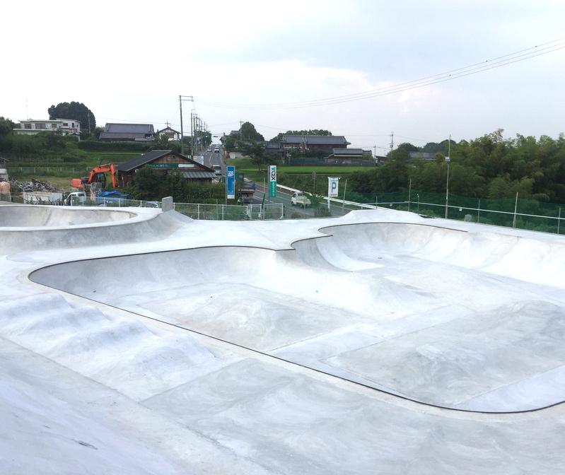 GSP(御所スケートボードパーク)