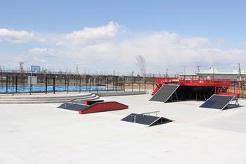 上谷総合公園スケートパーク