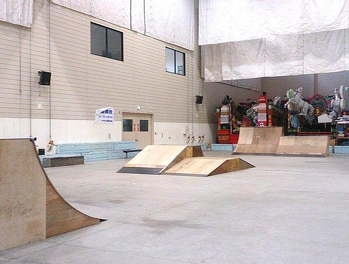 長者まつりんぐ広場スケートパーク