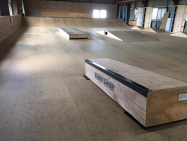 NRSF(奈良県ローラースポーツ連盟)本部スケートパーク(※一般利用不可)