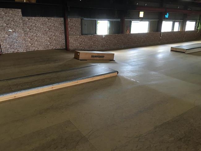 NRSF(奈良県ローラースポーツ連盟)本部スケートパーク
