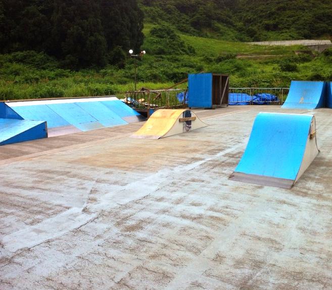 南魚沼市スケートパーク 6Park