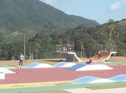 室戸広域公園スケートパーク