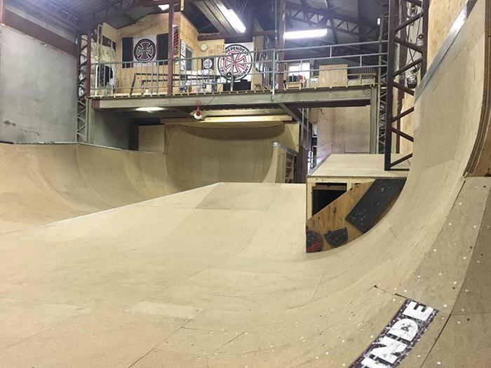 Backhanded Skatepark