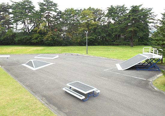 日居城野運動公園スケートボード場