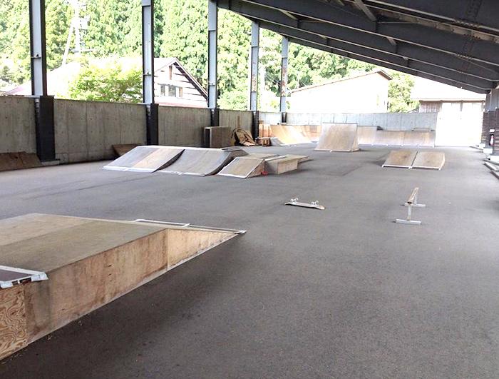 吉野谷スケートパーク