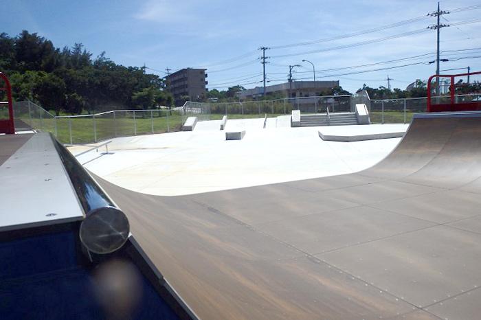 カママ嶺公園スケートパーク