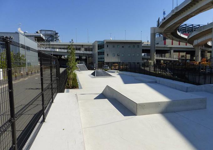 大師河原公園スケートボードパーク