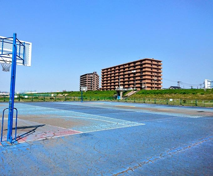 百間川緑地公園 ローラースケート場