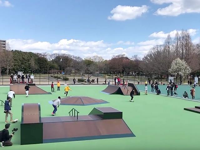 庄内緑地公園スケートパーク