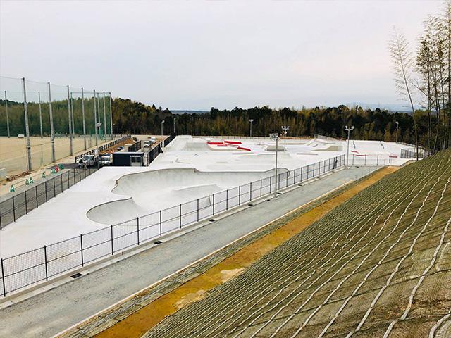 松阪市総合運動公園スケートパーク