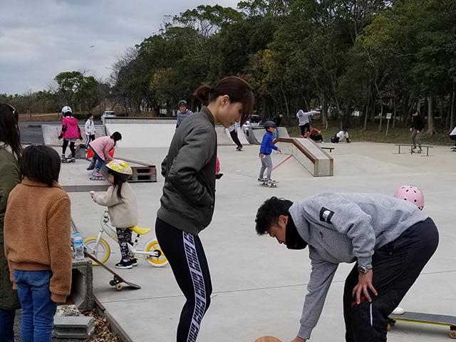 唐津市河畔公園スケートボードパーク