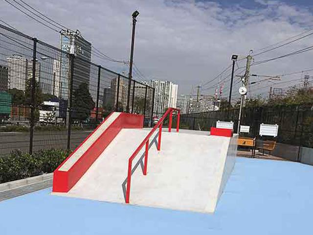 八潮北公園スケートボード場(品川スケートパーク)