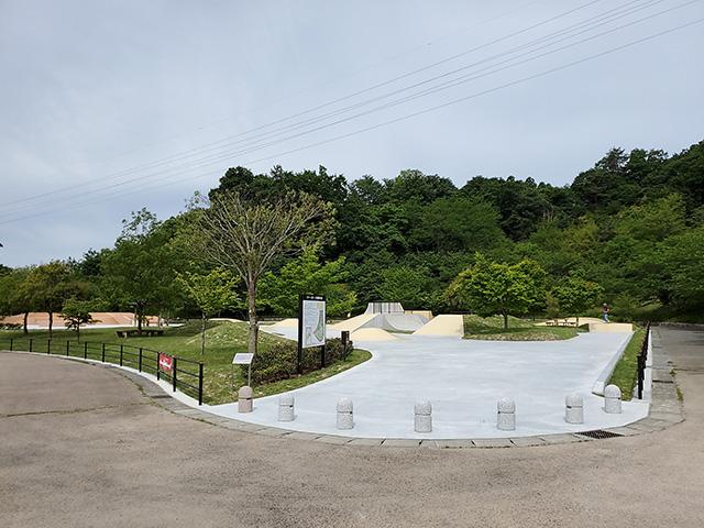 21世紀の森公園スケートボード広場