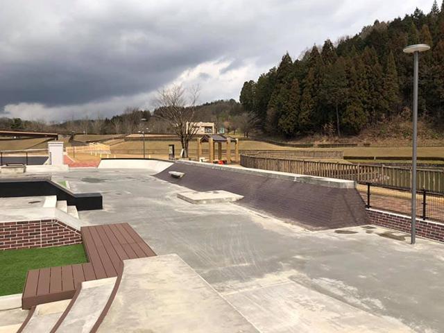 ふくい健康の森 スケートパーク