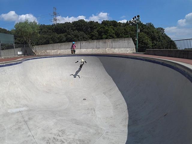 戸吹スポーツ公園スケートパーク