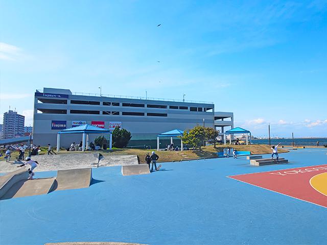 横須賀うみかぜ公園 スケートボードエリアのレビュー投稿画像